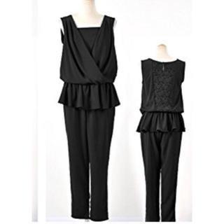 パーティードレス パンツ セットアップ 黒(その他ドレス)