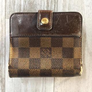 ルイヴィトン(LOUIS VUITTON)のルイヴィトン ダミエ 2つ折り財布(折り財布)