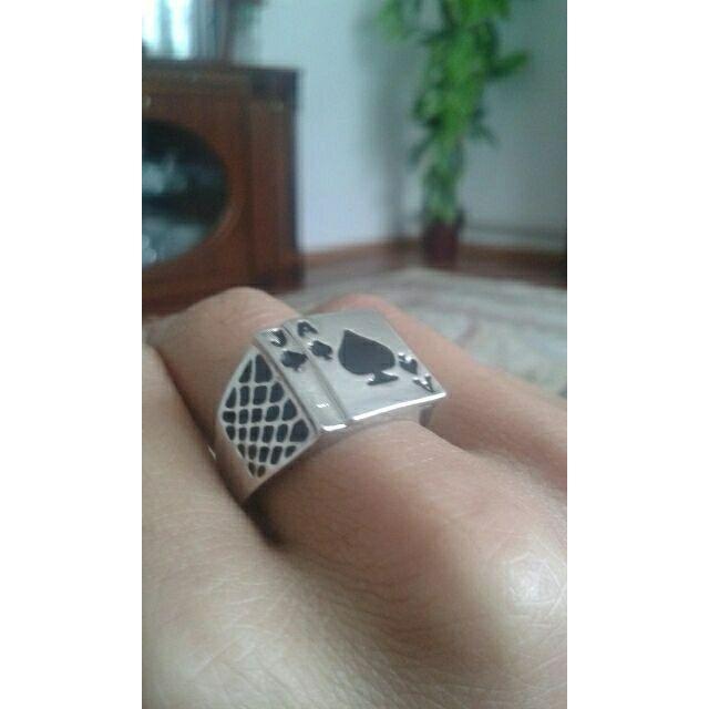 トランプリング シルバー メンズリング メンズのアクセサリー(リング(指輪))の商品写真