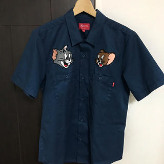 Supreme - supreme work shirt tom&jerry トムジェリ