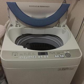 シャープ(SHARP)の【格安】SHARP ES-GE70R洗濯機【2月22日まで】(洗濯機)