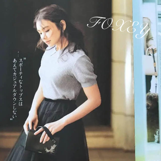 FOXEY - foxey  トップス フォクシー 38