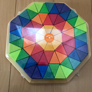 ロンハーマン(Ron Herman)のグリムス 積み木 虹のオクタゴン(積み木/ブロック)