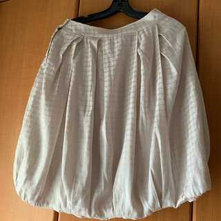 コトゥー(COTOO)のCOTTO リバーシブル バルーンスカート 40(ひざ丈スカート)
