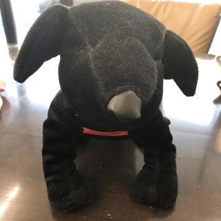 コムサコレクション(COMME ÇA COLLECTION)のコムサの黒犬(ぬいぐるみ)