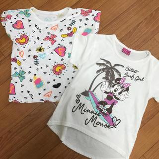 シマムラ(しまむら)の新品 110㎝ 半袖セット(Tシャツ/カットソー)