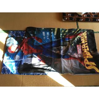 スパイダーマン ジュニアお昼寝布団カバー三点セット(シーツ/カバー)
