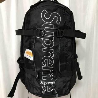 シュプリーム(Supreme)のSUPREME 18FW バックパック 黒 新品(バッグパック/リュック)