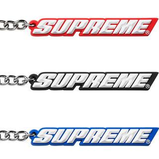 シュプリーム(Supreme)のsupreme Bevel Logo Keychain 最終値下げ(キーホルダー)