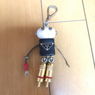 プラダ(PRADA)のPRADA ロボット レザー チャーム(チャーム)