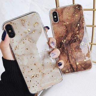 マーブル柄 大理石風 X/XS iphoneケース アイフォン(iPhoneケース)