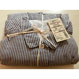 MUJI (無印良品) - 無印良品 レディース 脇に縫い目のない二重ガーゼ パジャマ Mサイズ