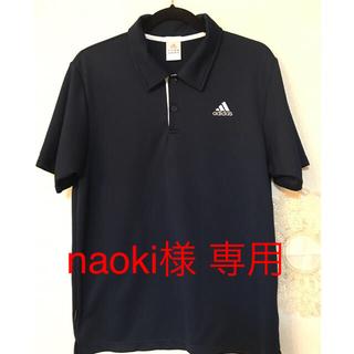 アディダス(adidas)のアディダス ポロシャツ 紺色(ポロシャツ)