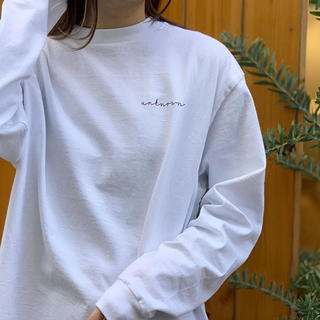TODAYFUL - TODAYFUL Lettering Long T-Shirts
