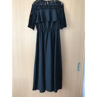 メルロー(merlot)のMerlot ワンピース ドレス 結婚式(ロングドレス)