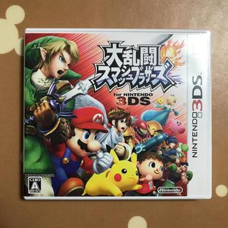 ニンテンドー3DS(ニンテンドー3DS)の大乱闘スマッシュブラザーズ for ニンテンドー3DS ゲームソフト(携帯用ゲームソフト)