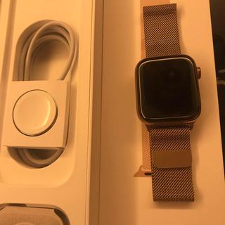 アップルウォッチ(Apple Watch)の新品同様 apple watch series4 ステンレスケース 44mm(腕時計(デジタル))
