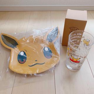 ポケモン(ポケモン)のポケモンカフェ プレート グラス(キャラクターグッズ)