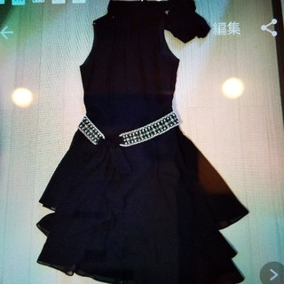 ミッシェルクラン(MICHEL KLEIN)のミシェルクラインドレス  未使用(ミディアムドレス)