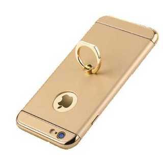 iphone ケース ゴールド リングスタンド付き カッコいい クール 軽量(iPhoneケース)