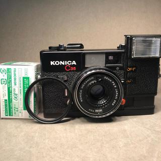 コニカミノルタ(KONICA MINOLTA)のkonica C35 コニカ フィルムカメラ (フィルムカメラ)