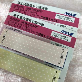 エーエヌエー(ゼンニッポンクウユ)(ANA(全日本空輸))の送料無料  ANA株主優待券(航空券)