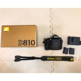 ニコン(Nikon)の超美品 Nikon D810 シャッター回数4667枚(デジタル一眼)