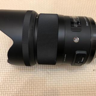 シグマ(SIGMA)のSIGMA 35mm f1.4 DG HSM Art Nikon用(レンズ(単焦点))