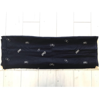 mina perhonen - ミナペルホネン  choucho  ネイビー 76×24cm