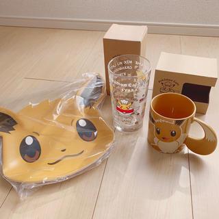 ポケモン(ポケモン)のポケモンカフェ プレート マグカップ(キャラクターグッズ)
