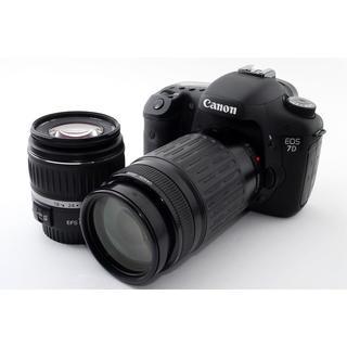 キヤノン(Canon)の★2つのレンズでどんなシーンもカバー★キャノン EOS 7D ダブルレンズ(デジタル一眼)