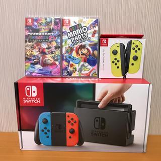 ニンテンドースイッチ(Nintendo Switch)の任天堂スイッチセット(家庭用ゲーム本体)