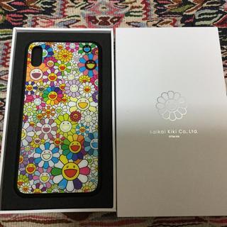 送料込村上隆kaikaikiki iPhone X MAX用ケース マルチカラー(iPhoneケース)