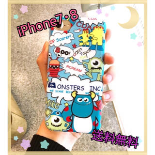 18@『値下げ中』iPhone7 iPhone8 ディズニー 可愛い 派手(iPhoneケース)