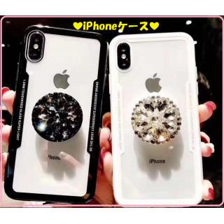キラキラリング付きiPhoneケース(iPhoneケース)