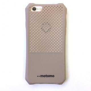 スマホケース ソフト パンチング 放熱 iPhone6/6s ゴールド(iPhoneケース)