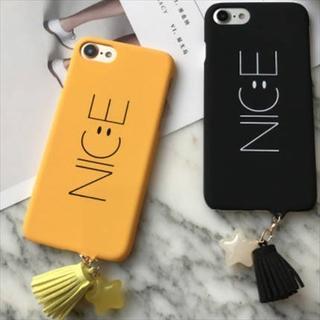 新品 NICEスマイルiPhoneケース 全2色 送料無料(iPhoneケース)