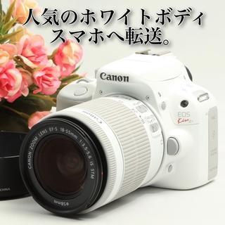 キヤノン(Canon)の★可愛いホワイトボディ★インスタアップも楽々★キャノン EOS kiss X7 (デジタル一眼)