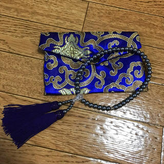数珠袋付き 数珠 葬式(その他)