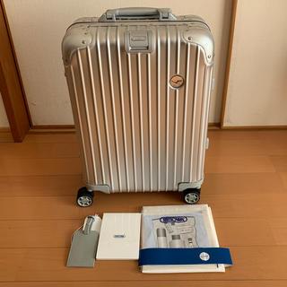 リモワ(RIMOWA)の美品USED リモア ルフトハンザ トパーズ マルチホイール32L 機内持込可(トラベルバッグ/スーツケース)
