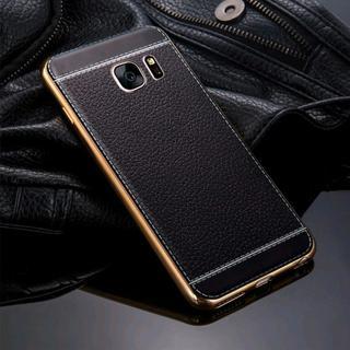 ブラック Galaxy S7 edge 超薄型 ケース(Androidケース)