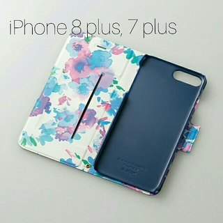 エレコム(ELECOM)のiPhone 8 Plus,7 Plus用 Ultra Slim Flowers(iPhoneケース)