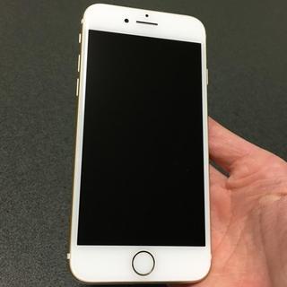 アイフォーン(iPhone)の即購入OK 美品 SIMフリー iPhone7 128GB gold(スマートフォン本体)