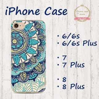 【在庫処分価格!】 ブルー 透明 シリコン スマホカバー iPhone(iPhoneケース)