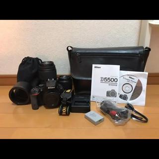 ニコン(Nikon)のNikon D5500 ダブルズームキット(デジタル一眼)