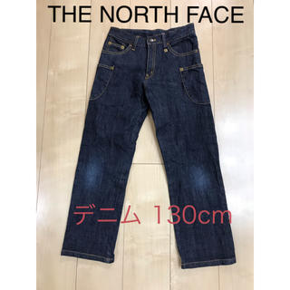 THE NORTH FACE - THE NORTH FACE ノースフェイス デニム ジーンズ 130