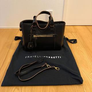 トゥモローランド(TOMORROWLAND)の新品  イタリア製 Fratelli Rossetti  ハンドバッグ(ハンドバッグ)