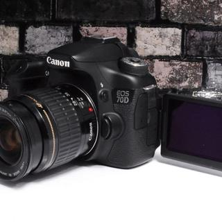 キヤノン(Canon)の【大人気★】Canon 70D レンズキット (デジタル一眼)