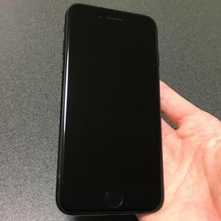 アイフォーン(iPhone)の即購入OK 超美品 iPhone7 128GB docomo jetblack(スマートフォン本体)