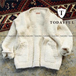 TODAYFUL - TODAYFUL【未使用に近い】Hand Knit Cardigan